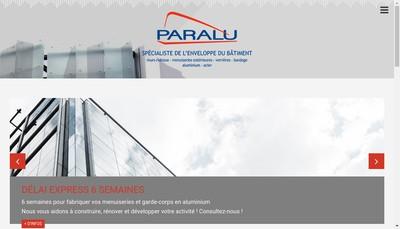 Site internet de Entreprise Paralu Menuiserie Epm