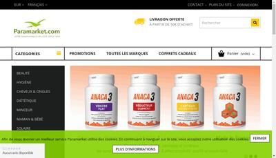 Site internet de Parazer