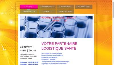 Site internet de Bioact