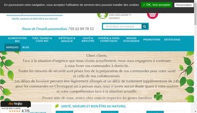 Site internet de Paranatura Parafemina