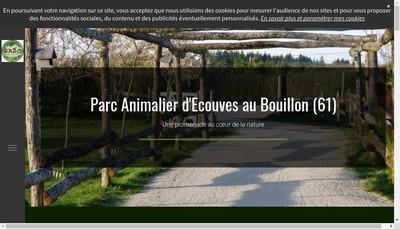 Site internet de Parc Animalier d'Ecouves