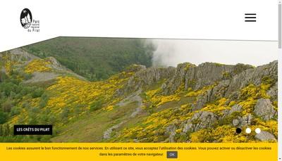 Site internet de Le Pilat SA