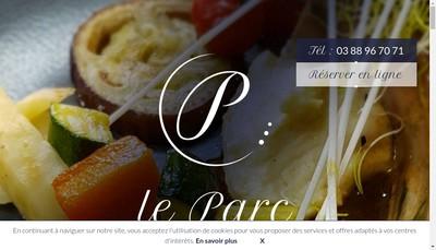 Site internet de Restaurant du Parc