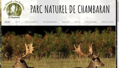 Site internet de Parc Naturel de Chambaran-les Roulottes de Chambaran