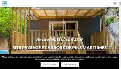 Site internet de Camping des Maurettes
