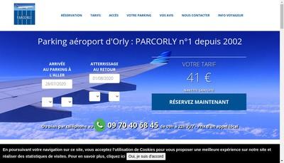 Site internet de Parcorly