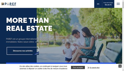 Site internet de PAREF