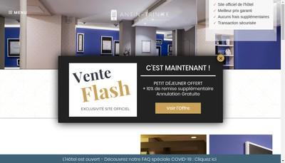 Site internet de Antin Chateaudun