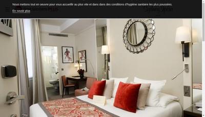 Site internet de Hotel Sydney Opera