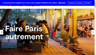 Site internet de Paris Batignolles
