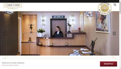 Site internet de Hotel Opera d'Antin