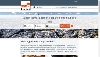 Site internet de A Parisian Home