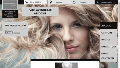 Site internet de Park Avenue