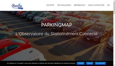 Site internet de Parking Map