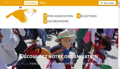 Site internet de Par le Monde