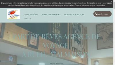 Site internet de Part de Reves