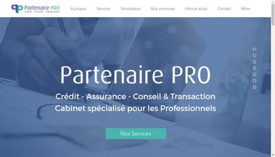 Site internet de Partenaire Pro