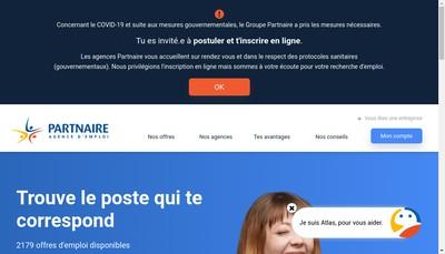 Site internet de Partnaire 37