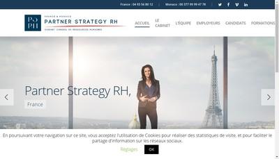 Site internet de Partner Strategy Rh