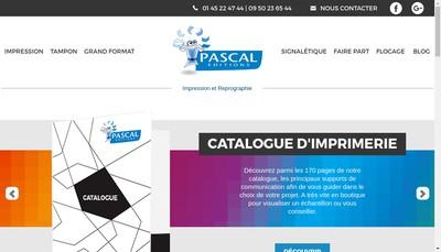 Site internet de Pascal N Editions