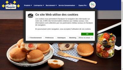 Site internet de Pasquier