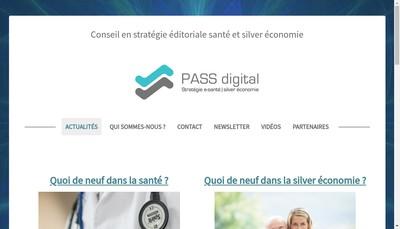 Site internet de Pass Digital