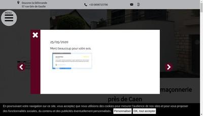 Site internet de Passe Present Batiment SARL