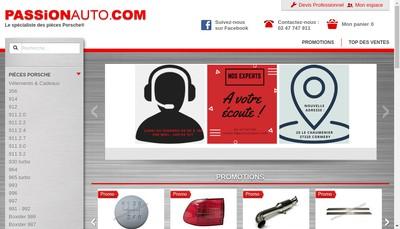 Site internet de Passionauto Com