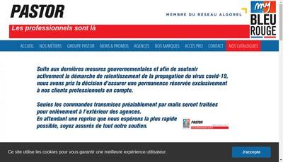 Site internet de Pastor Toulon