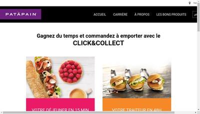 Site internet de France Restauration Rapide
