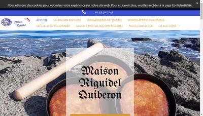 Site internet de Maisons Riguidel SARL