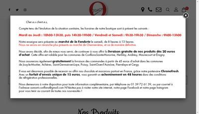 Site internet de Osmont