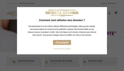 Site internet de Patricia Reynier