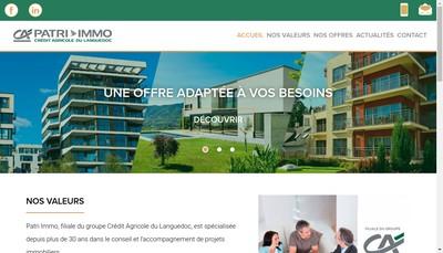 Site internet de Patri Immo