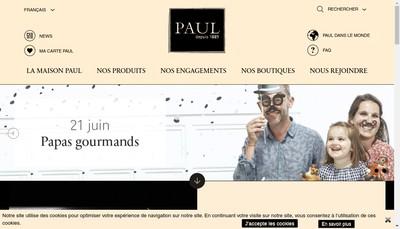 Site internet de Paul