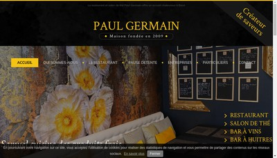 Site internet de Paul Germain