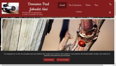 Site internet de Leon Chival Maitre de Chais