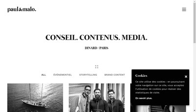 Site internet de Paul et Malo
