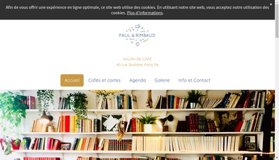Site internet de Paul et Rimbaud