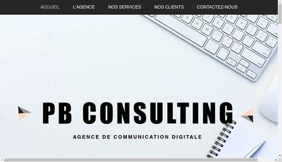 Site internet de Pauline Bechet Consulting