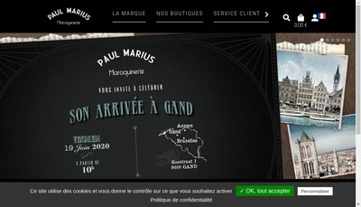 Site internet de Paul Marius