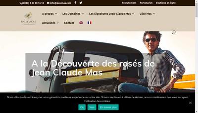 Site internet de The Humble Winemaker