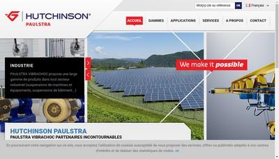 Site internet de Paulstra SNC