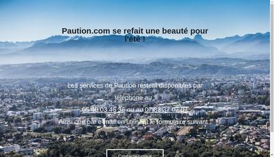 Site internet de Paution