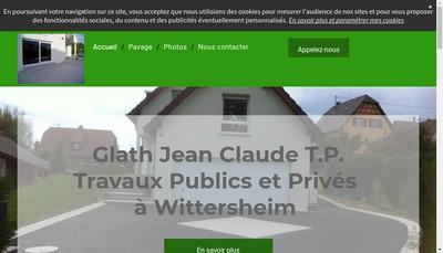 Site internet de Glath Jean-Claude