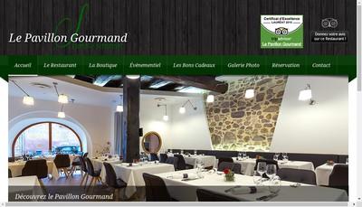 Site internet de Le Pavillon Gourmand-P Schubnel