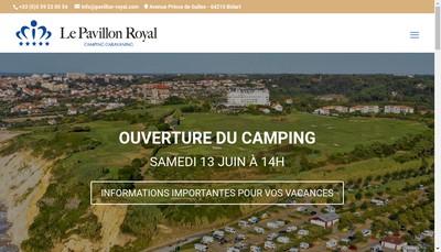 Site internet de Societe Nouvelle du Pavillon Royal