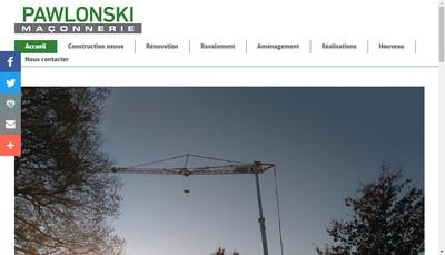 Site internet de Pawlonski