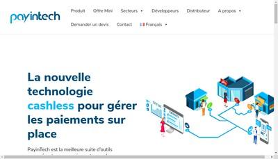 Site internet de Payintech