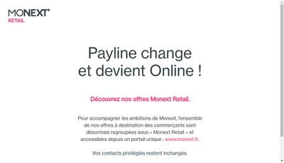 Site internet de Payline